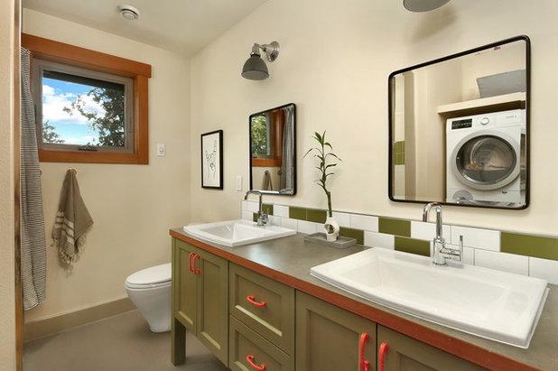 Rustic Bathroom by Bellingham Bay Builders