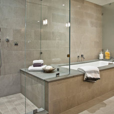 Contemporary Bathroom by Andrea Braund Home Staging & Design