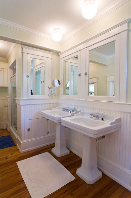 Traditional Bathroom by Ellen Cassilly Architect