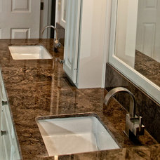 Traditional Bathroom by Maeser Master Services