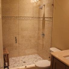 Traditional Bathroom by Benjamin Alan Homes