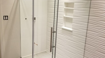Frameless Barn Door Style Shower Slider Enclosures