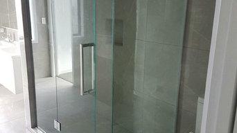 Frameless Glass shower Installation