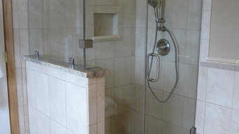 Frameless Heavy Glass Shower Doors