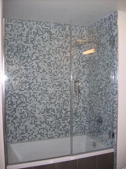 Traditional Bathroom by Algami Glass Doors