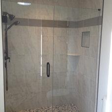 Bathroom by John A Tallarida Glass & Mirror