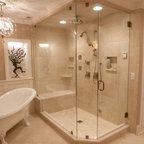 Lago vista moderno stanza da bagno los angeles di for Moderno bagno ranch