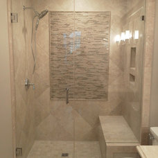 Contemporary Bathroom by Lowcountry Glass & Shower Door LLC