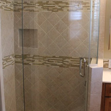 Traditional Bathroom by Shower Doors of Houston
