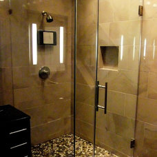 Contemporary Bathroom by Shower Doors of Houston