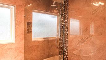 Frameless Shower Panel