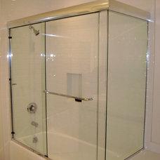 Modern Showerheads And Body Sprays by Century Shower Door