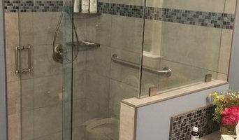 Frameless Sliding Shower Enclosure