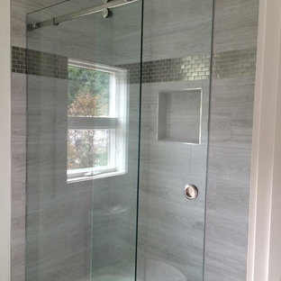 Frameless Sliding Shower Enclosures