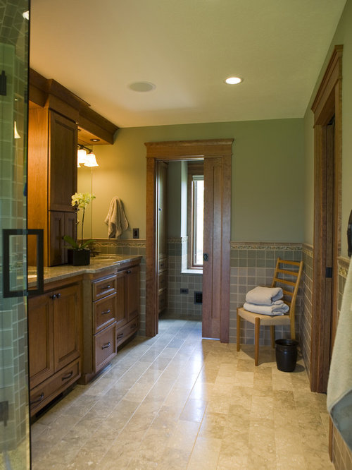 Prairie Style Bathroom Home Design Ideas Pictures