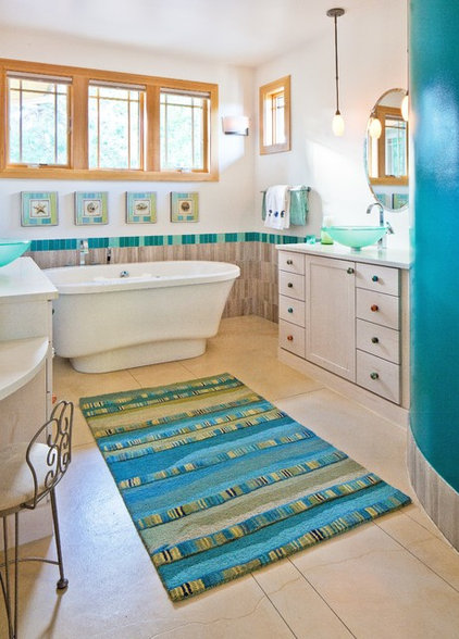 Craftsman Bathroom by Porchfront Homes