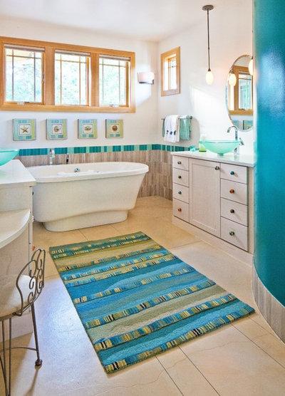 Craftsman Bathroom by Porchfront Homes