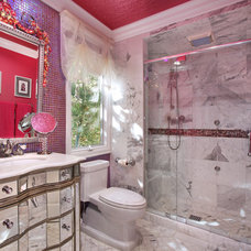 Eclectic Bathroom by Jeri Koegel Photography