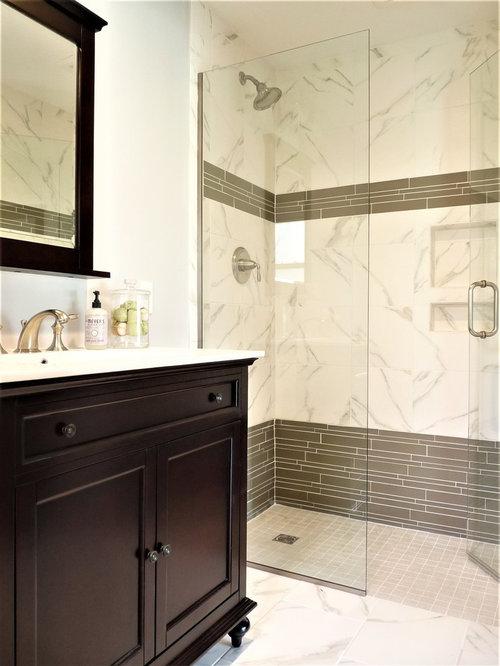 Eclectic Shower Module Bathroom Design Ideas Renovations Photos