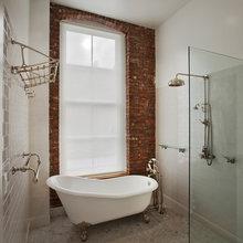 Small Bathroom with Clawfoot Tub - ideas