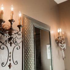 Mediterranean Bathroom by Illuminations