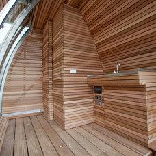 Modern Bathroom by Marijn Beije Design