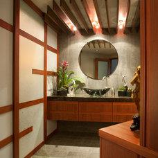 Contemporary Bathroom by James Patrick Walters
