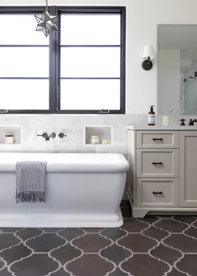 Mediterranean Bathroom by Madison Modern Home