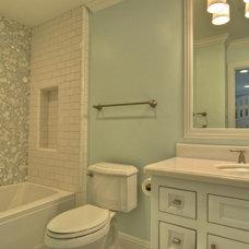 Traditional Bathroom by LuAnn Development, Inc.