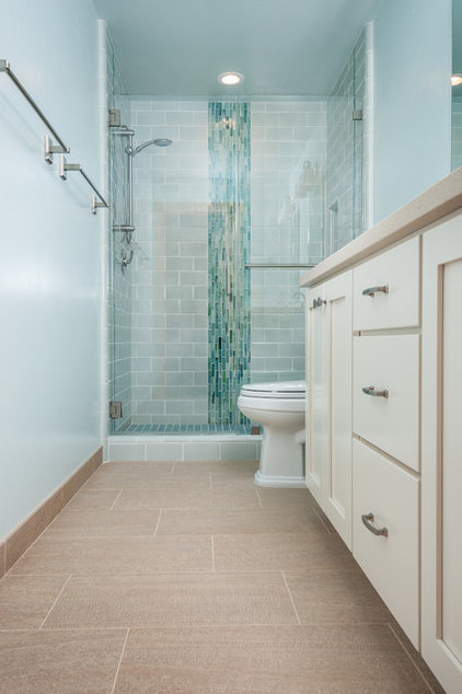 Contemporary Bathroom by Anna Jacoby Interiors