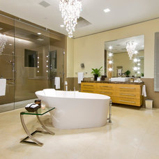 Contemporary Bathroom by Custom Dreams Construction Group