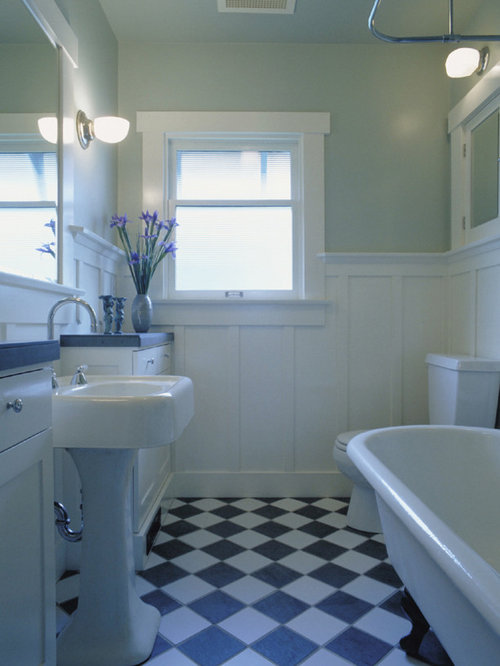 Craftsman Style Wainscoting Home Design Ideas, Pictures, Remodel and Decor