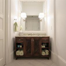 Tropical Bathroom by 708 Studios, LLC