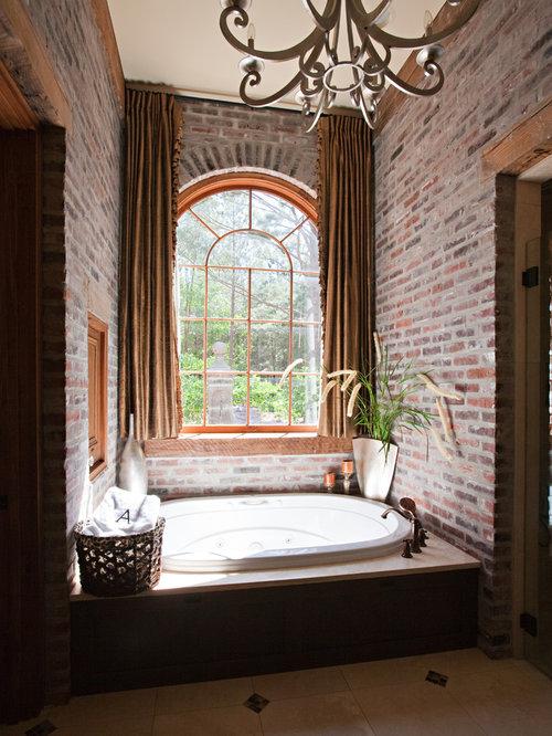 Klinker Brick Wohnideen & Einrichtungsideen | Houzz Badezimmer Klinker
