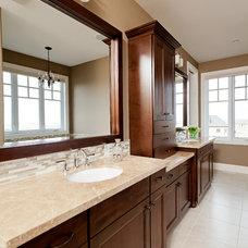 Traditional Bathroom by Trickle Creek Custom Homes