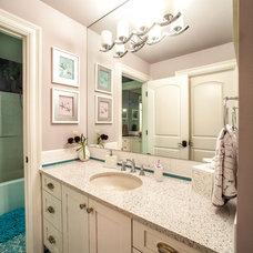 Traditional Bathroom by M.J. Whelan Construction