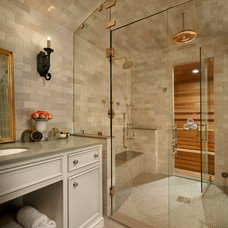 Traditional Bathroom by Charles Vincent George Architects, Inc.