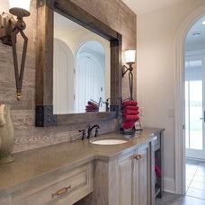 Traditional Bathroom by John Kraemer & Sons