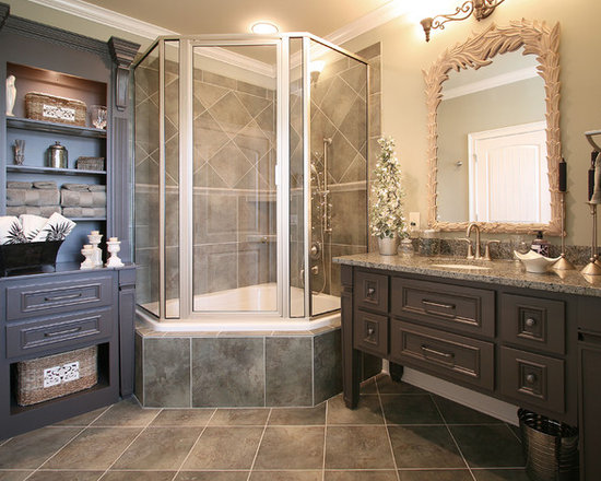 Bathroom Corner Shower bathroom corner shower | houzz