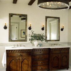 Mediterranean Bathroom by Tommy Chambers Interiors, Inc.