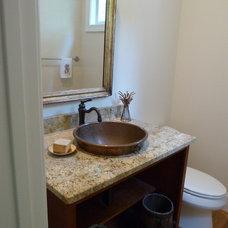 Mediterranean Bathroom by The Washington Kitchen Gallery