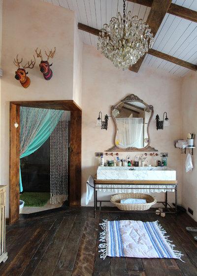 Eclectic Bathroom by Orkun Indere Interiors