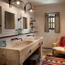 Mediterranean Bathroom by Bouton and Foley Interiors
