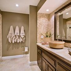 Bathroom by Jodi Fleming / Fleming Distinctive Homes
