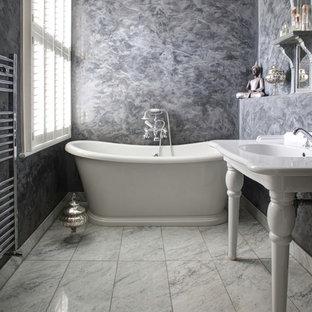 Неиссякаемый источник вдохновения для домашнего уюта: ванная комната в стиле шебби-шик