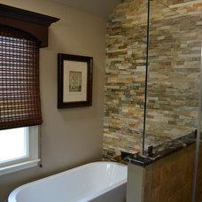 Traditional Bathroom by Debra L Designs, LLC