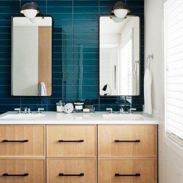 Fresh Modern Kids Bath Remodel