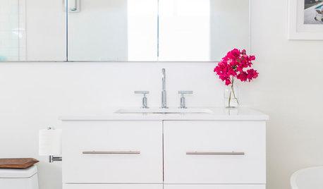 Salle de bains de la Semaine : Une petite pièce savamment optimisée