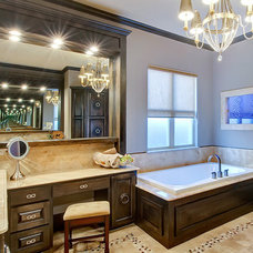 Traditional Bathroom by Hensley Premier Builders