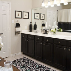 Eclectic Bathroom by Bethany Lewis, R.I.D.